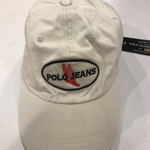 NWT Adjustable Polo Jeans Hat